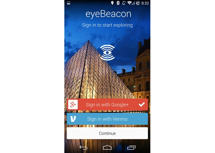 eyeBeacon – screenshot 5