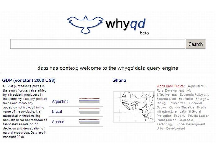 Whyqd Data Query Engine – screenshot 1