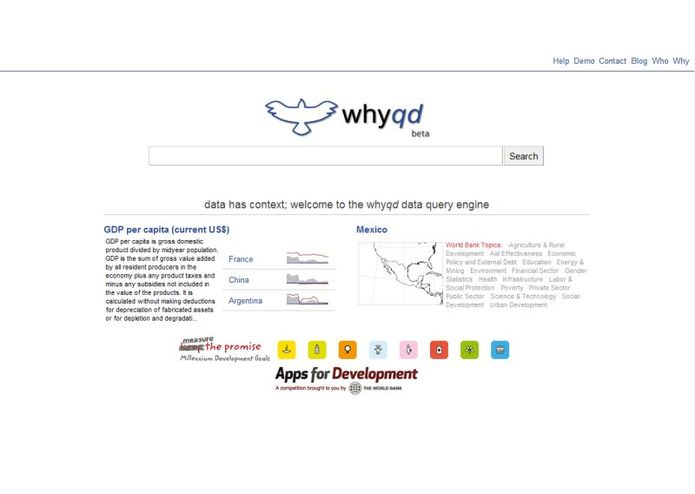 Whyqd Data Query Engine – screenshot 2