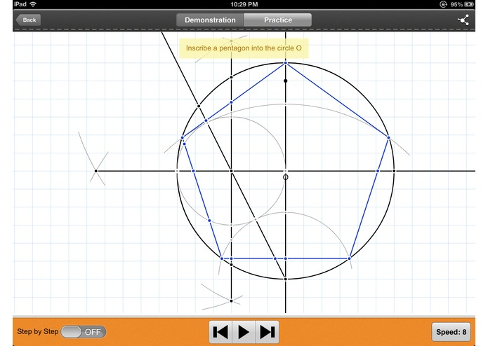 Geometry: Constructions Tutor – screenshot 1