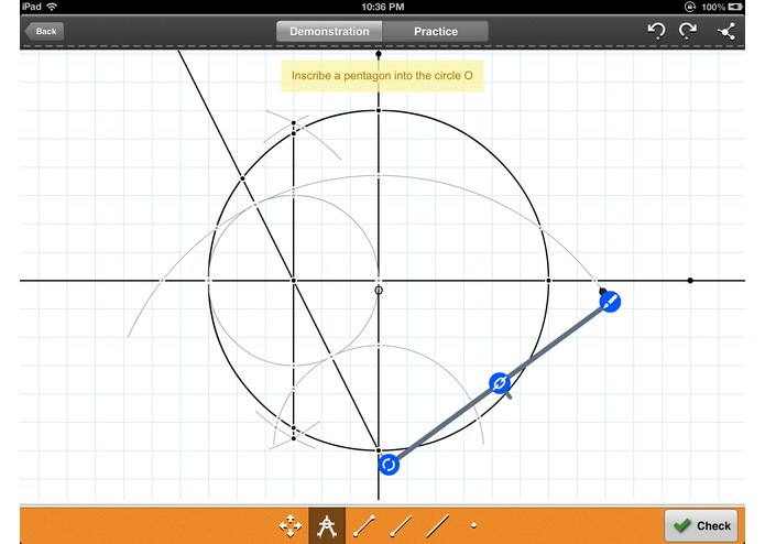Geometry: Constructions Tutor – screenshot 2