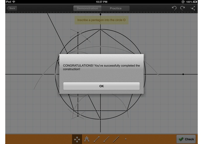 Geometry: Constructions Tutor – screenshot 3