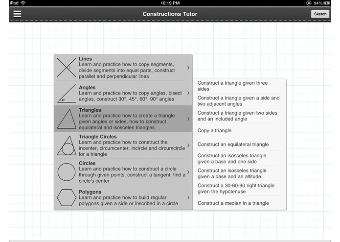 Geometry: Constructions Tutor – screenshot 4