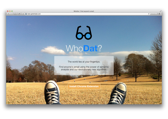 WhoDat? – screenshot 1