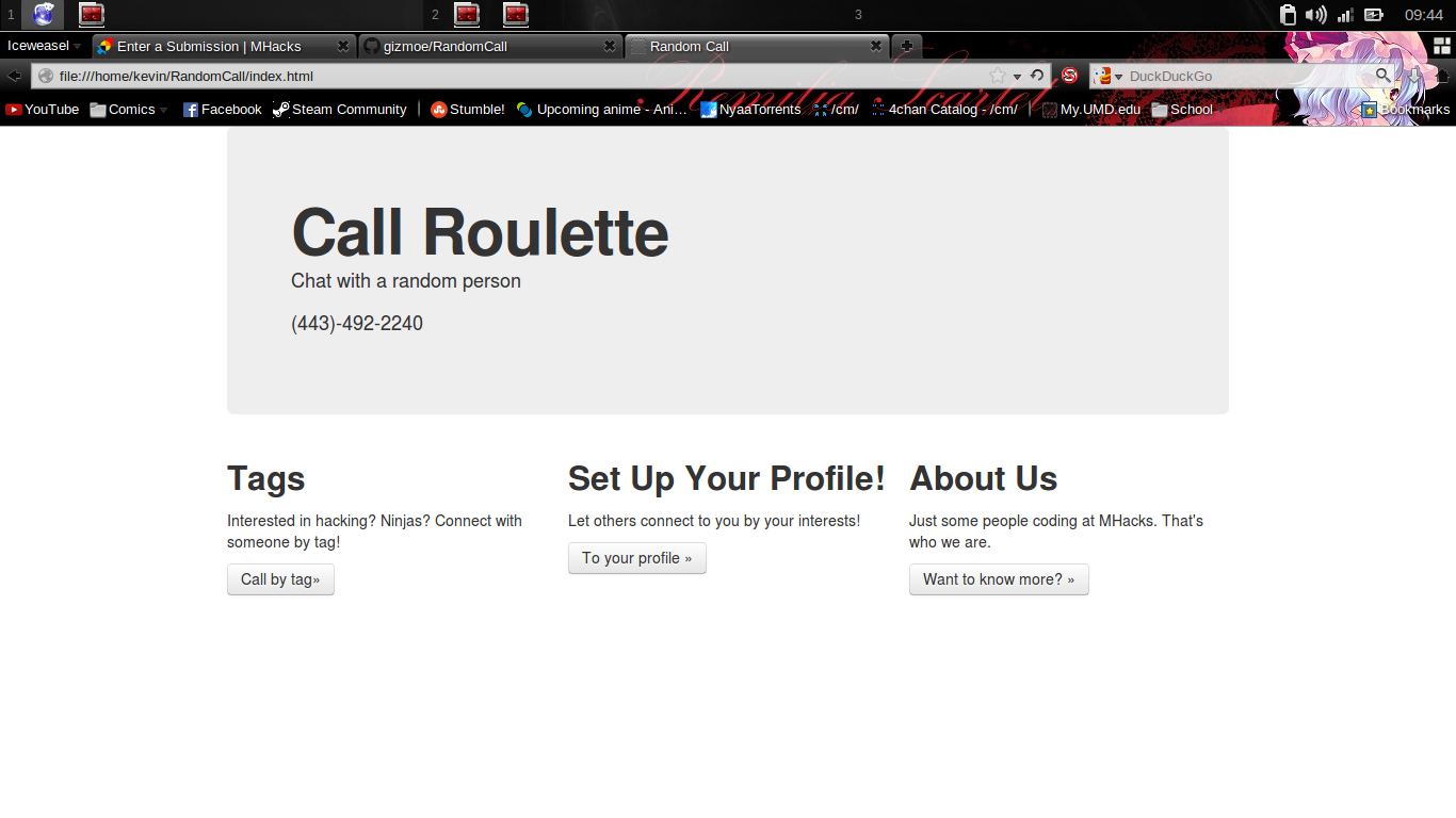 Call Roulette