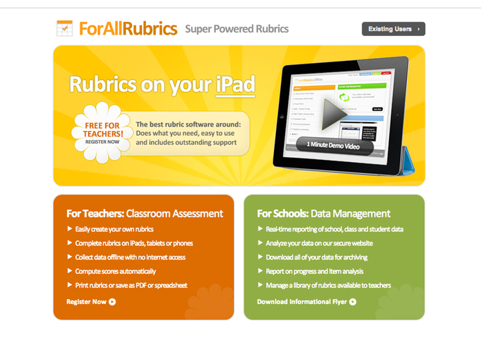 ForAllRubrics – screenshot 1