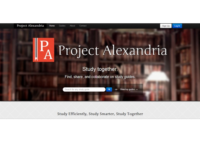 Project Alexandria – screenshot 1