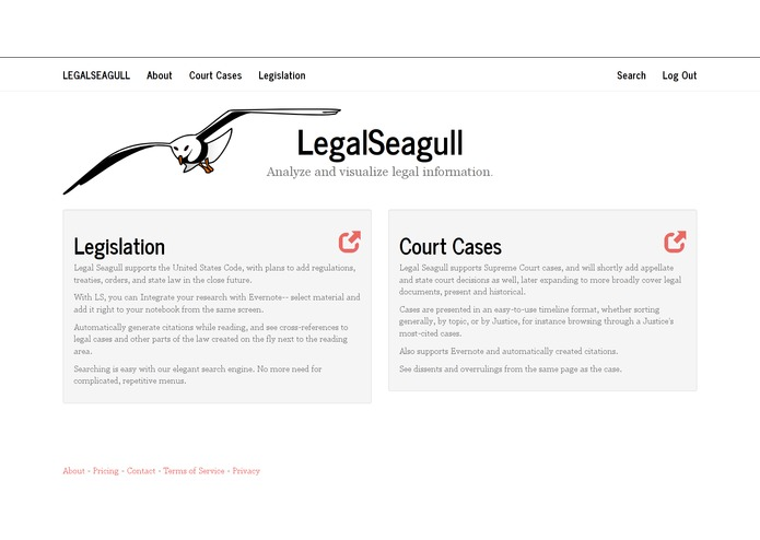 LegalSeagull – screenshot 2