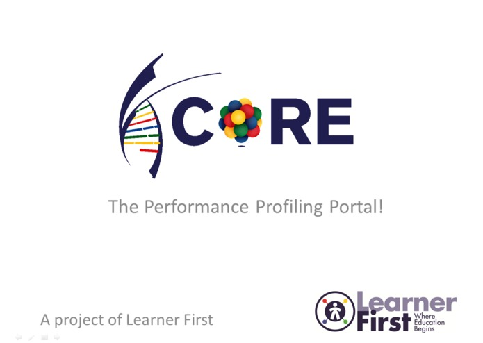 CORE - The Performance Profiling Portal – screenshot 1