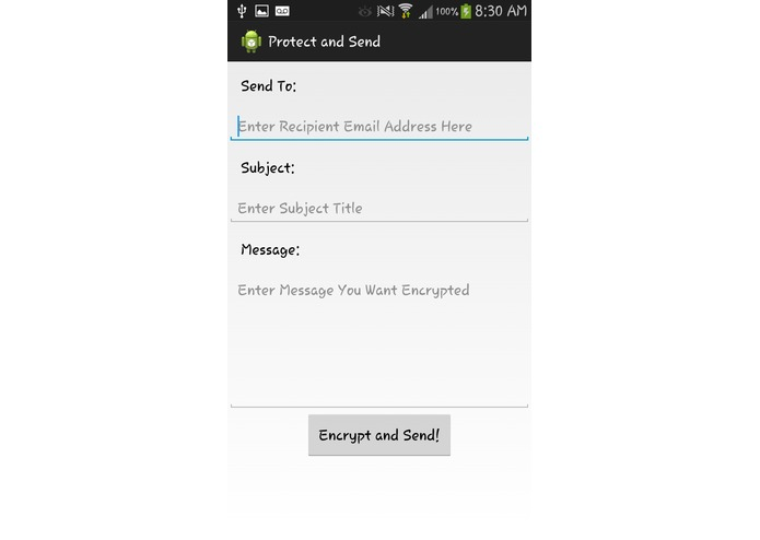 Protect And Send – screenshot 4
