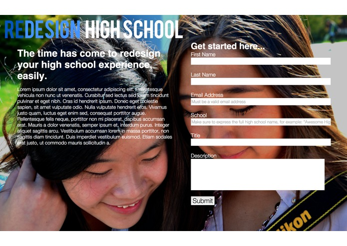 REDesign High School – screenshot 4