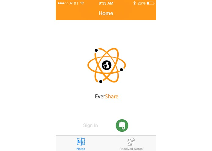 EverShare – screenshot 2