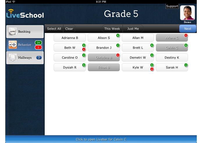LiveSchool – screenshot 3