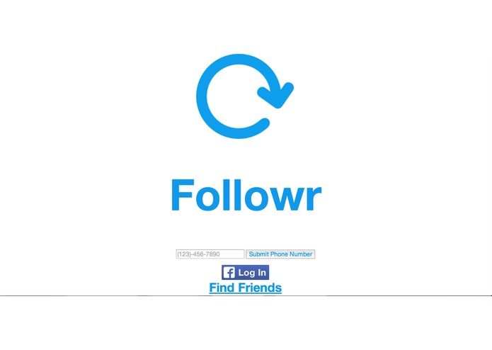 followr – screenshot 1