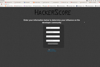 HackerScore
