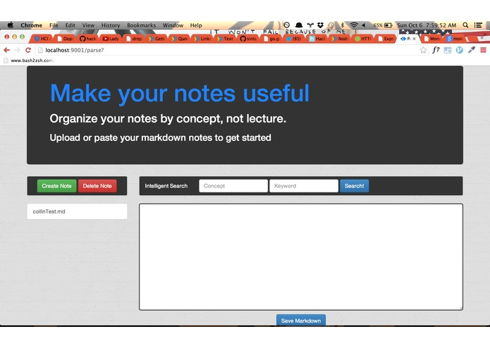 NoteGenius – screenshot 1