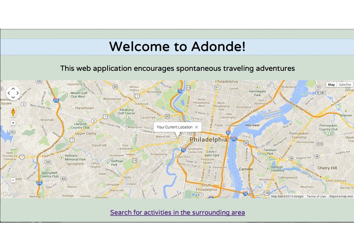 Adonde – screenshot 1