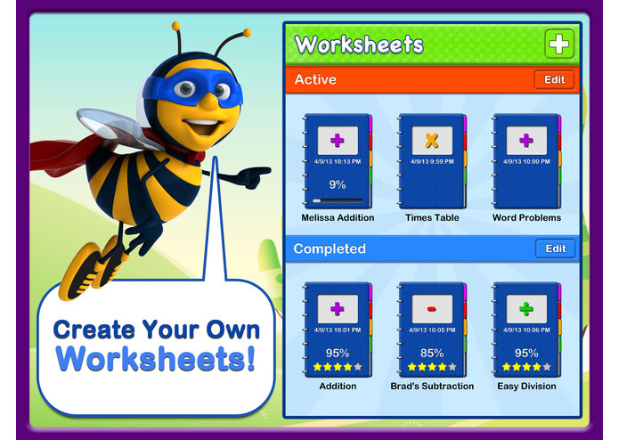 Abby Explorer - Math Worksheets – screenshot 1