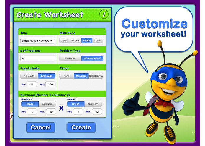 Abby Explorer - Math Worksheets – screenshot 2