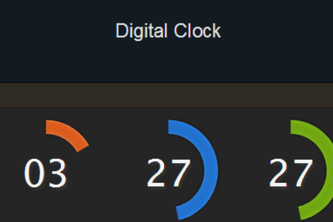Digitized Clock