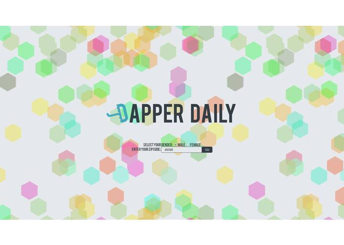 Dapper Daily – screenshot 2