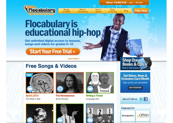 Flocabulary – screenshot 1