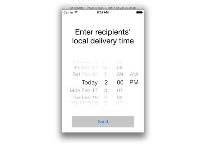 Smart Send – screenshot 4