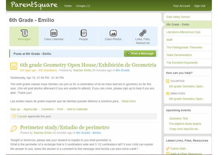 ParentSquare – screenshot 1