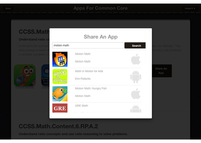 Apps For Common Core – screenshot 4