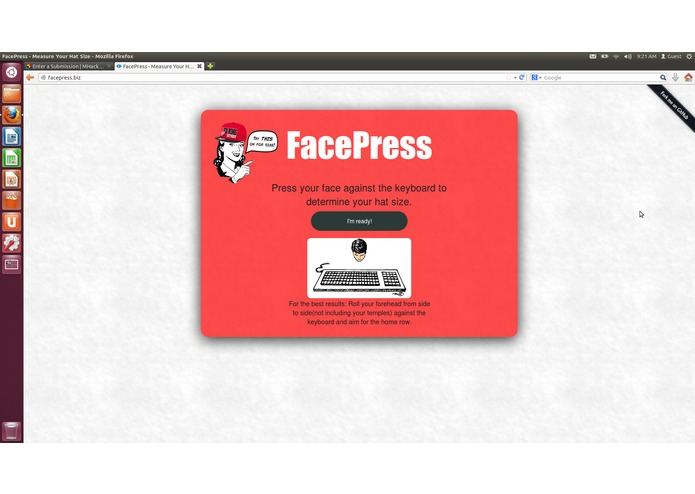 FacePress – screenshot 1