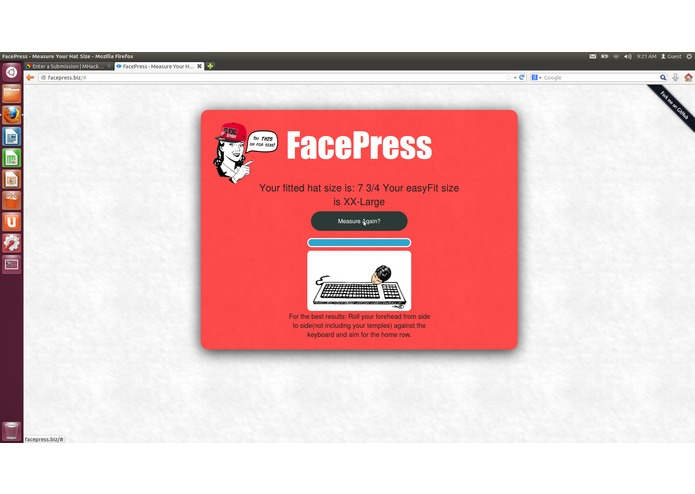 FacePress – screenshot 2