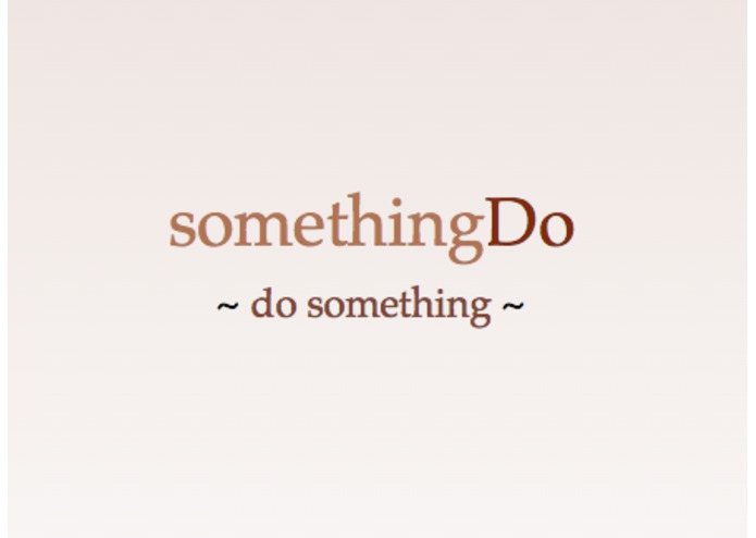 somethingDo – screenshot 1