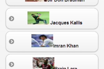 Great Cricketers