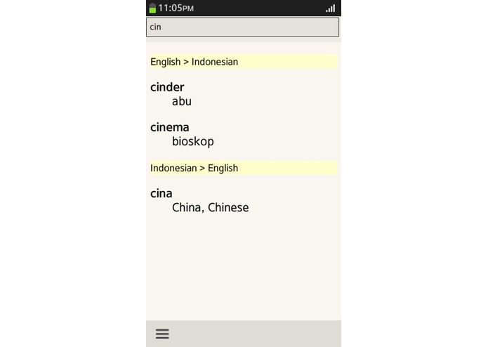 Indonesian English Translator – screenshot 2