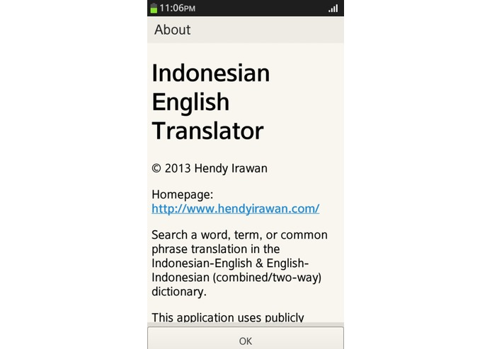 Indonesian English Translator – screenshot 4