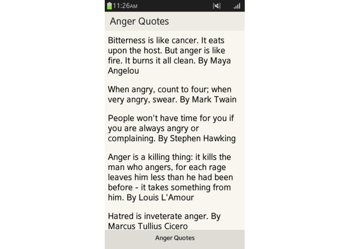 Anger Quotes | Devpost