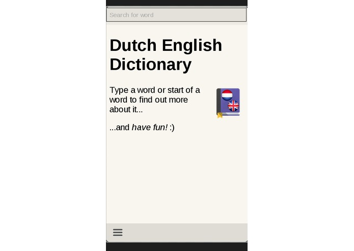 Dutch English Dictionary – screenshot 1