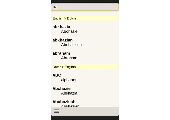 Dutch English Dictionary – screenshot 2