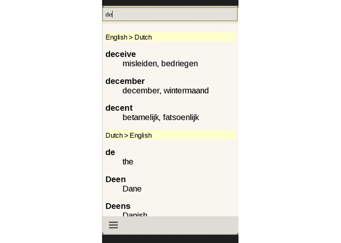 Dutch English Dictionary – screenshot 3