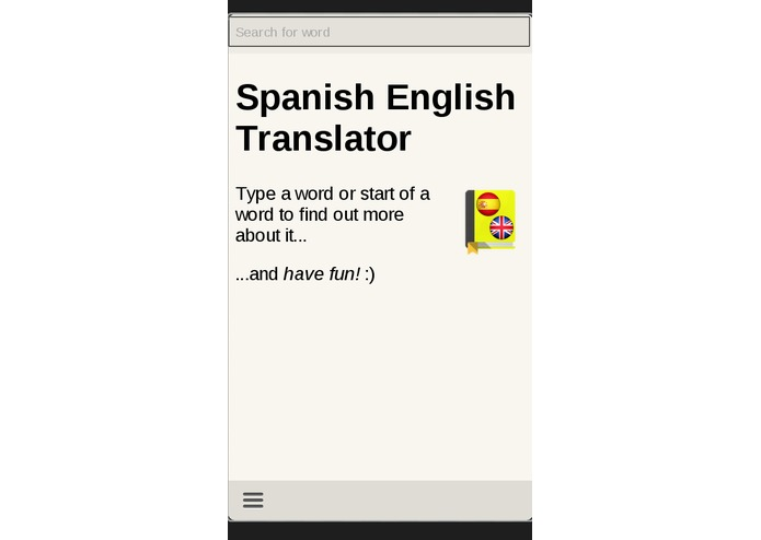 Spanish English Translator – screenshot 1
