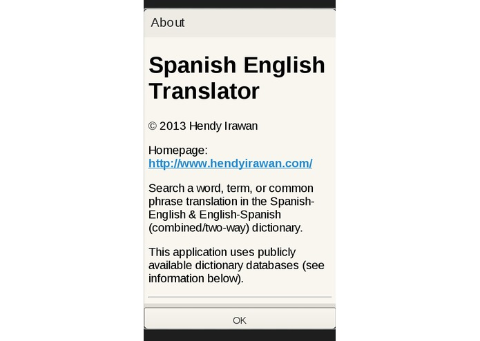Spanish English Translator – screenshot 2