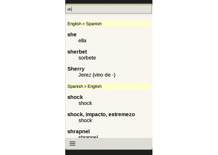Spanish English Translator – screenshot 4