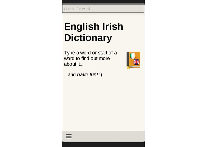 English Irish Dictionary – screenshot 1