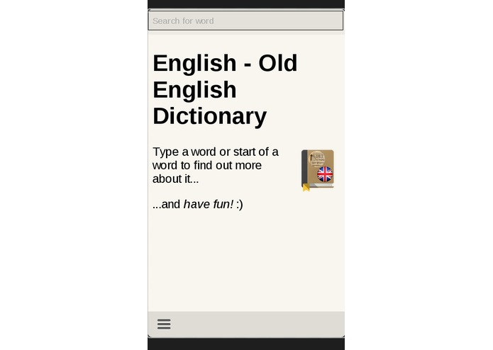 English - Old English Dictionary – screenshot 2