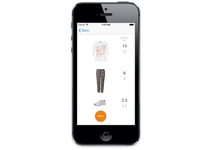 Zalando Matcher – screenshot 2