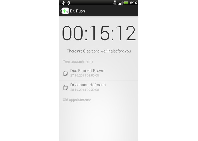 DoctorPush – screenshot 1