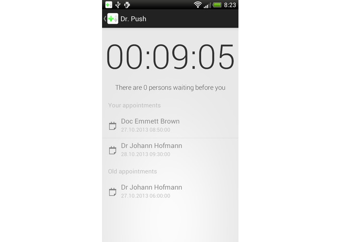 DoctorPush – screenshot 2