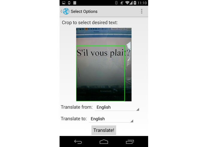 SnapTranslate – screenshot 2