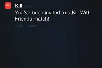 Kill with Friends
