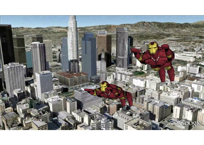 Iron Man x Google Earth – screenshot 3